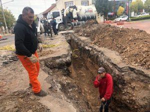 Tres Arroyos: Licitaron la obra de desagüe pluvial entre Perón y Juárez $ 1 Millon