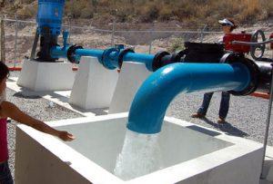 Comienza la obra de agua en Claromecó