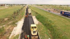 Edeca S.A. avanza la pavimentación del ingreso a Tierra de Sueños en Santa Fe $ 30 Millones