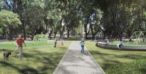 Puesta en valor de la Plaza Pueyrredón en Santa Fe $ 11 Millones