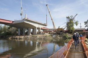 En julio estará listo el nuevo Puente Lacarra, que unirá Villa Soldati con Lanús $ 250 Millones