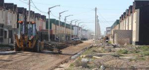 Obra de pavimentación en el barrio Chacra XIII de Río Grande $70 Millones