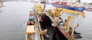 Puerto Quequén firmó el contrato para la obra de Profundización a 50 pies