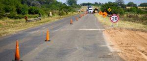 Pitón Rehabilita la ruta N° 20 EERR $108 Millones