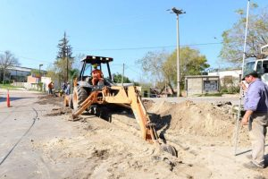 Quaranta inicia la obra de saneamiento cloacal de Paraná $110 Millones