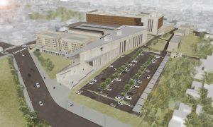Nuevo Polo Judicial de Mendoza junto a la penitenciaría