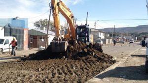 Comodoro repavimentación y infraestructura básica del barrio Juan XXIII y Las Américas $165 Millones