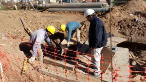 Aguas Santafesinas lleva ejecutado el 50% de la nueva infraestructura cloacal de la ciudad de Esperanza