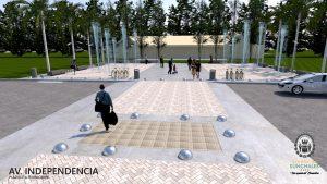 Sunchales puesta en valor de la avenida Independencia $13 millones