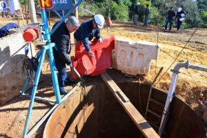 """JCR S.A. avanza en la construcción de gaviones en la """"zanja de Hortt"""""""