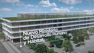 Sede del Ministerio de Habitat y Desarrollo Humano – Parque Público y Calles Entorno $84 Millones 9 Ofertas