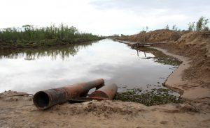 Construcción de la Defensa contra las inundaciones en Villa Paranacito, Entre Ríos $251 Millones