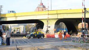 El puente de Juan B. Justo comienza a despedirse de Palermo