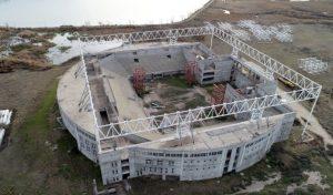 Cinter será la empresa que colocará el techo del megaestadio de Santa Rosa $196 Millones