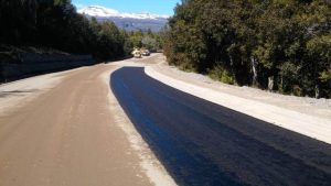 Rovella Carranza -Rodalsa avanza a buen ritmo la pavimentación de la ruta Nº 71 en Los Alerces – Chubut