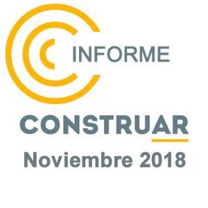 CONSTRUAR – Informe de la obra pública Noviembre 2018