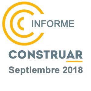 CONSTRUAR – Informe de la obra pública Septiembre 2018