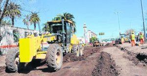 Rosario renovación integral de avenida Jorge Newberry 8 empresas $290 Millones