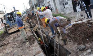 Obras de infraestructura en barrios de Rosario y el área metropolitana $118 Millones