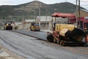Comodoro repavimentación de las avenidas Chile, Congreso y Constituyentes $91 Millones
