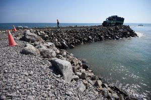 Adjudicaron a RIZZO la construcción de rompeolas de Mar Chiquita $142 Millones.