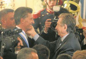 Ghella de Italia cobra lazos con el clan Macri