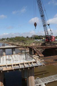 En un año de crisis, las grandes obras sufrieron atrasos y una sola fue inaugurada en Chaco