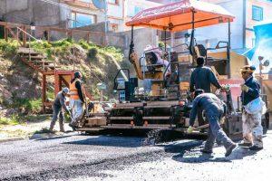 Única oferta para la obra de bacheo y pavimentación de calle Facundo Quiroga en Ushuaia