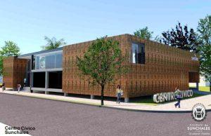 Dos ofertas para la primera etapa del Centro Cívico de Sunchales $1,7 Millones