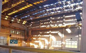 Eraiki SA única oferta se conoció hoy para la reconstrucción de la ESRN N°9 $45 Millones