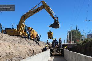 Tres ofertas para la obra que evitará futuras inundaciones en Cipolletti