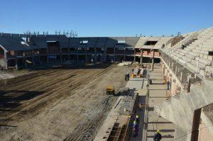 """El """"Luna Park"""" de Comodoro Rivadavia el estadio que nunca se terminó"""