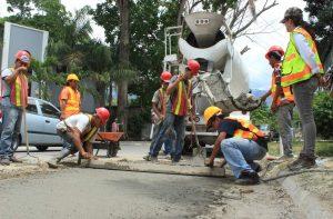 Sunchales Avanza la pavimentación de 8 cuadras en emergencia $4 Millones
