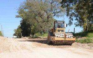 Demartín e Hijos avanza con los trabajos de pavimentación en Paraná