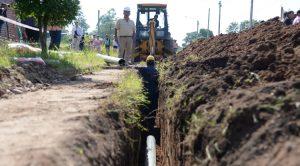 Mantenimiento y Rehabilitación de las redes de Agua Potable y Desagües Cloacales en la Vía Pública Zona C $2.508 Millones