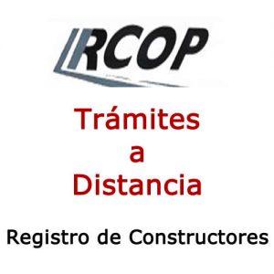 Apoderamiento Registro Nacional de Constructores de Obras Públicas. Trámites A Distancia. Vídeo Tutorial