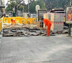 Adjudicaron a Irupé y Marle las aceras de la Zona 1 de CABA $283 Millones