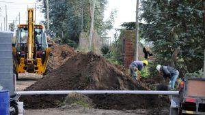 2 ofertas para extensión de redes de cloacas y agua en Tandil $2 Millones