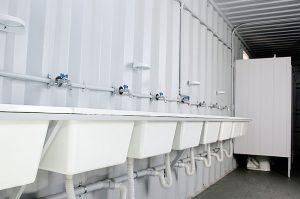 """Construcción de baños y vestuarios en el Polideportivo """"Cayetano Arias"""" de Viedma $3 Millones"""