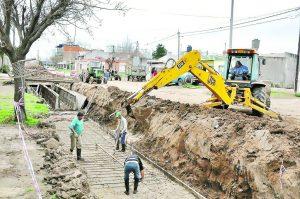 Desagües urbanos en Venado Tuerto 11 ofertas $58 Millones