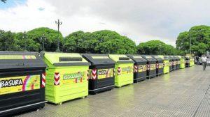 Suspenden la licitación por $66.000.000 para pintar los espacios de contenedores en CABA