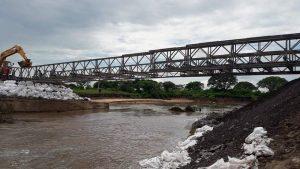 Tres oferentes para la reconstrucción del puente sobre Ruta 1 Colonia Teresa $30 Millones