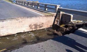Reconstrucción puente Ezcurra 4 Ofertas $6 Millones