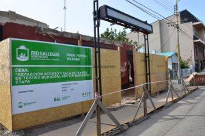 Se retrasa la obra del Teatro Municipal de Rio Gallegos