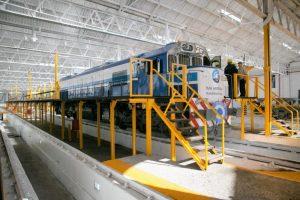 Se anunció el comienzo de la construcción de la fábrica de trenes en TMH en Bragado