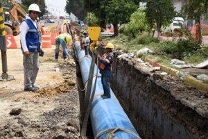 Patagones red de agua potable $3 Millones