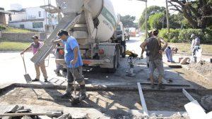 Hidracil S.A. Repavimenta la Av. 59 y calles del microcentro de Necochea $25 millones