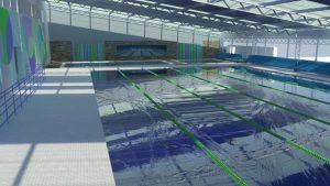 Licitan el complejo natatorio del CEF 42 de Tandil $ 14 Millones