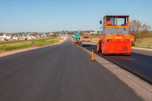 Avanzan frentes de obras viales en Paraná