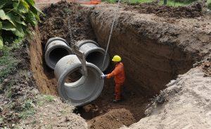 CHOEL empieza a construir pluviales en Rada Tilly $ 60 Millones